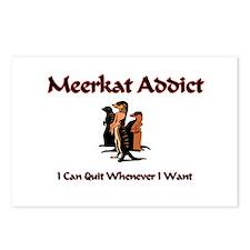 Meerkat Addict Postcards (Package of 8)