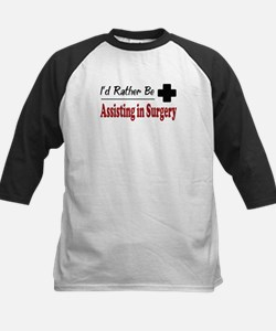 Rather Be Assisting in Surgery Kids Baseball Jerse
