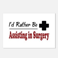 Rather Be Assisting in Surgery Postcards (Package