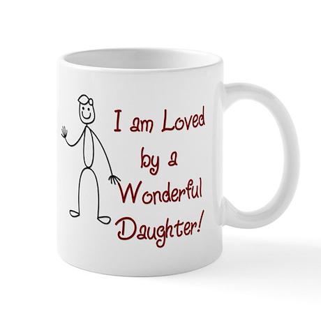 I am Loved By: Daughter Mug