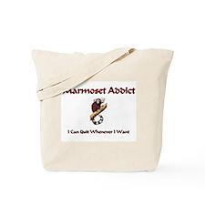 Marmoset Addict Tote Bag