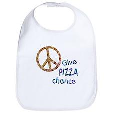 Give Pizza Chance Bib