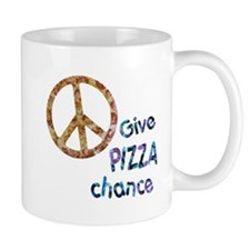 Give Pizza Chance Mug