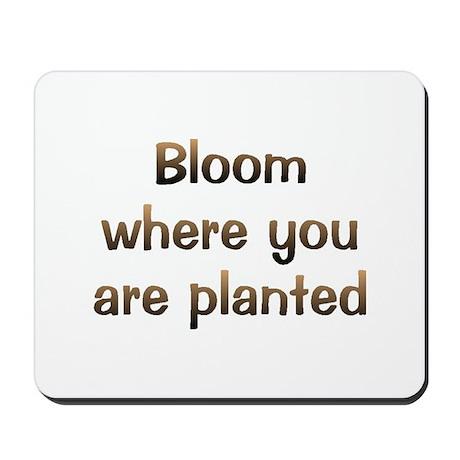 CW Bloom Mousepad