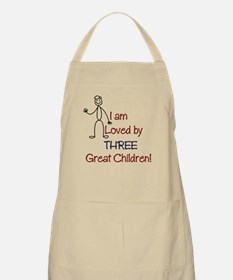 I am Loved by: 3 Kids BBQ Apron
