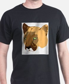 Cougar (Front only) T-Shirt