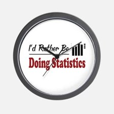 Rather Be Doing Statistics Wall Clock