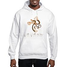 ASL Monkey Hoodie