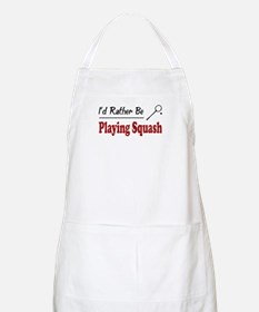 Rather Be Playing Squash BBQ Apron