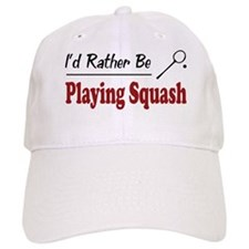 Rather Be Playing Squash Cap