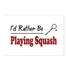 Rather Be Playing Squash Postcards (Package of 8)