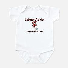 Lobster Addict Infant Bodysuit