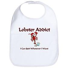 Lobster Addict Bib