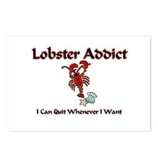 Lobster Addict Postcards (Package of 8)