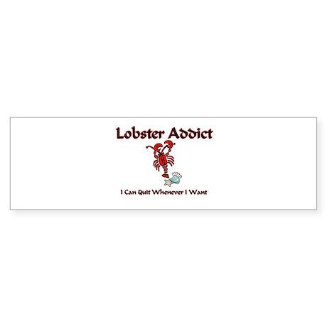 Lobster Addict Bumper Sticker