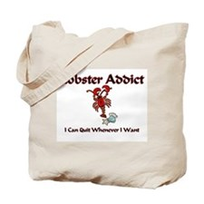 Lobster Addict Tote Bag