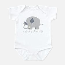 ASL Elephant Infant Bodysuit