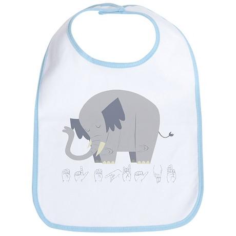 ASL Elephant Bib