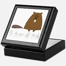 ASL Beaver Keepsake Box