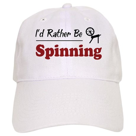 Rather Be Spinning Cap