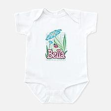 Bella Ladybug Flower Infant Bodysuit
