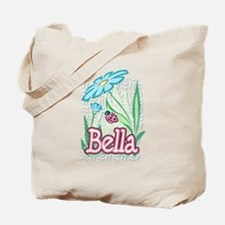 Bella Ladybug Flower Tote Bag