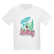 Bailey Ladybug Flower T-Shirt