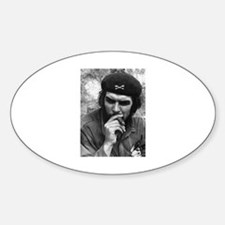 Che Guevara Oval Decal