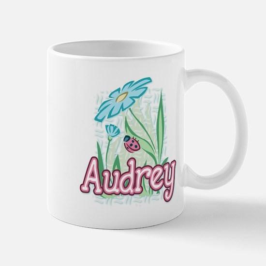 Audrey Ladybug Flower Mug