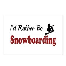 Rather Be Snowboarding Postcards (Package of 8)