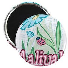 Aaliyah Ladybug Flower Magnet