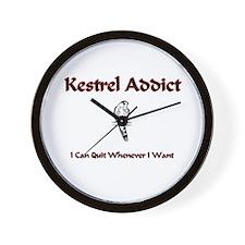 Kestrel Addict Wall Clock