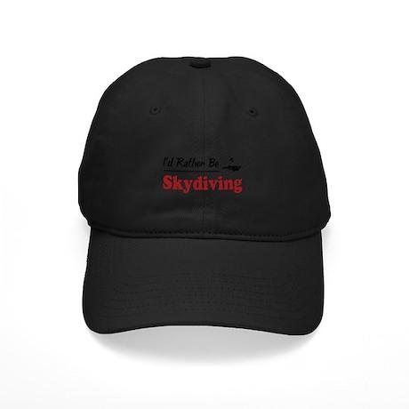 Rather Be Skydiving Black Cap