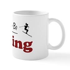 Rather Be Skiing Mug