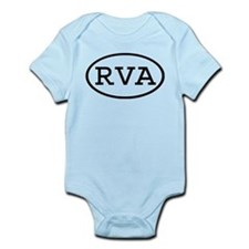 RVA Oval Infant Bodysuit