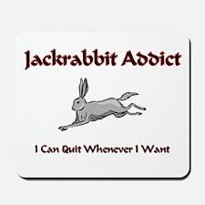 Jackrabbit Addict Mousepad
