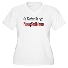 Rather Be Playing Shuffleboard T-Shirt