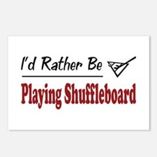 Rather Be Playing Shuffleboard Postcards (Package