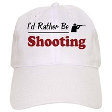 Rather Be Shooting Baseball Cap