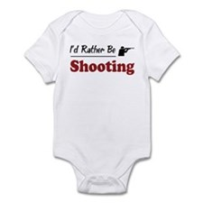 Rather Be Shooting Infant Bodysuit