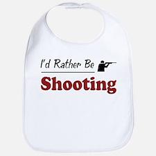 Rather Be Shooting Bib