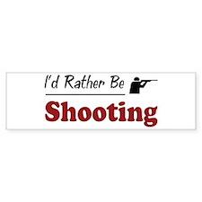 Rather Be Shooting Bumper Sticker (50 pk)