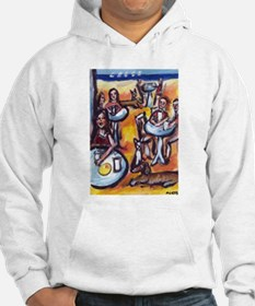 Unique Fun and whimsical art Hoodie