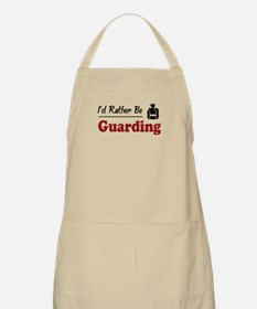 Rather Be Guarding BBQ Apron