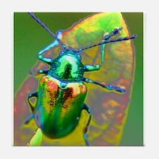 Unique Beetle Tile Coaster