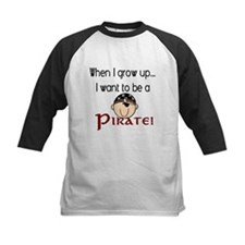 When I grow up: Pirate #2 Tee