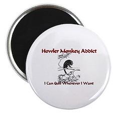Howler Monkey Addict Magnet