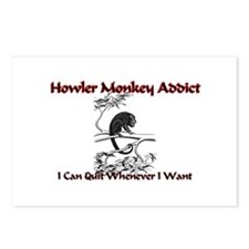 Howler Monkey Addict Postcards (Package of 8)