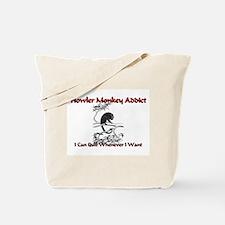 Howler Monkey Addict Tote Bag