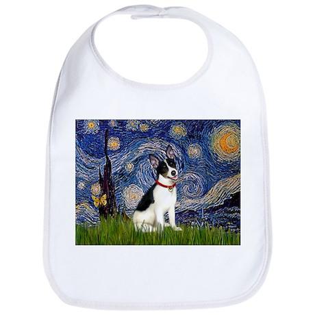Starry Night & Rat Terrier Bib